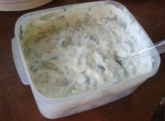 This delicious cilantro lime sauce is excellent serve on any and all seafood of your choice. So easy to make and so good.