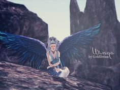 Wings by GoldDream - Free Sims 3 Accessories Downloads Dream World Custom Content Caboodle - Best Sims3 Updates and Finds
