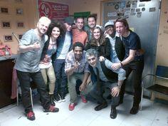 Diego Torres (@diegotorres) está de gira con toda su banda en España...  Foto tomada de Twitter