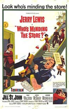"Jerry Lewis ""Who's Minding the Store?"""