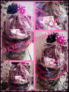 Monster high Easter basket with more items and wrapped