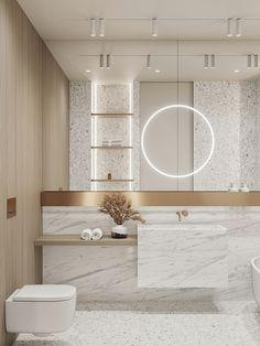 Bathroom Design Luxury, Modern Bathroom Design, Modern Interior, Home Interior Design, Bathroom Design Inspiration, Home Gadgets, Small Bathroom, Minimalistic Kitchen, Toilet Design