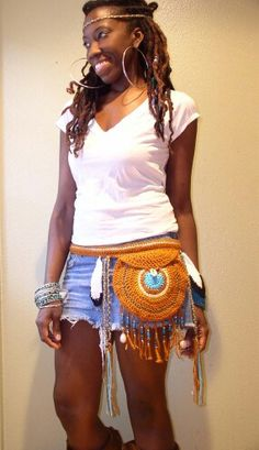 Crochet fanny pack                                                                                                                                                                                 More