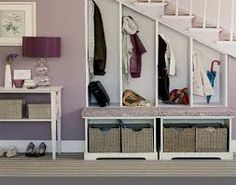 storage for narrow entryway - Google Search