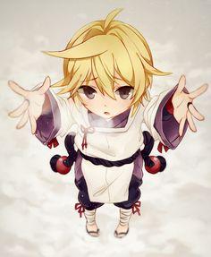 Vocaloid Len Chibi