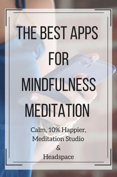 The BEST meditation apps you'll find in the app store! Using meditation is the #1 way to combat a stressful schedule. Click through to find 4 of the most helpful meditation apps whether you're a beginner or an experienced! | Mindfulness| What is mindfulness?| Mindfulness exercises| Mindfulness activities|Self-love tips | Self-love activities | Self-love exercises Breathing Exercises | Stress relief | anxiety relief | calm | #ZenMeditation