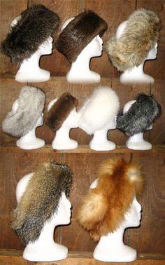 Custom Clothes, Diy Clothes, Turkey Fan, Fur Headband, Grey Fox, Fur Pillow, Dyi, Head Bands, Fur Fashion
