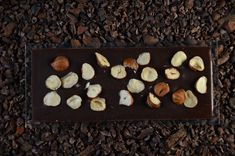 Schokolade mit Haselnuss Bourbon Vanille, Kakao, Chocolate, Live, Foods, Chocolates, Brown