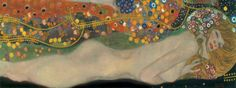 Buy online, view images and see past prices for GUSTAV KLIMT - SEA SERPENTS III. Invaluable is the world's largest marketplace for art, antiques, and collectibles. Gustav Klimt, Klimt Prints, Canvas Prints, Art Prints, Framing Canvas Art, Sea Serpent, Academic Art, Mural Painting, Paintings