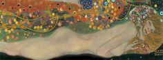 Waterslangen II, ca. 1907 Print van Gustav Klimt - bij AllPosters.be