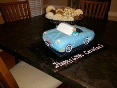 Thunderbird Car Cake