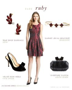 How To Accessorize A Maroon Color Dress Dresses To Wear Dresses