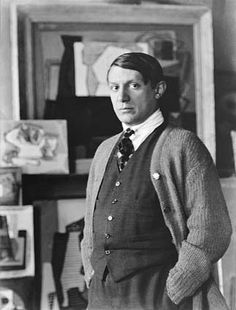 Pablo Picasso , by Man Ray