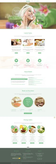 Relish is a elegant multipurpose PSD-template suitable for a wide variety of businesses. It makes the template applicable for Spa salons, Hotels, Vocation sites, personal blog or any other elegant type of sites. #beautician #psdtemplate