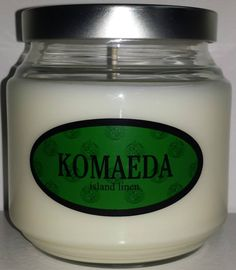 Nagito Komaeda inspired candle from the game Super Danganronpa 2.
