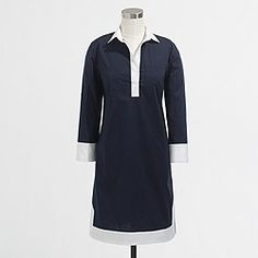 Factory tipped tunic dress