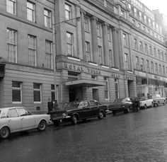 The Royal Turks Head Hotel on Grey Street, Newcastle on April 1970 Local History, British History, Old Pictures, Old Photos, St James' Park, Somewhere In Time, North East England, Historical Pictures, Newcastle