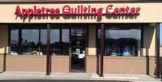 Appletree Quilting & Viking Center Store Front