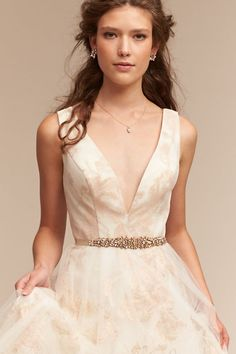 Ivory Lily Gown | BHLDN