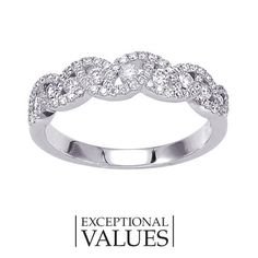 Fred Meyer Jewelers   1/2 ct. tw. Diamond Anniversary Ring