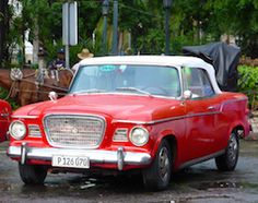This rare Studebaker Lark convertible would be a huge hit back in America.