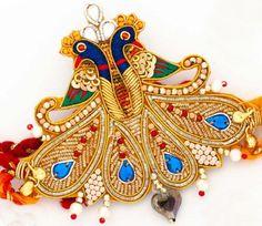 Peacock Rakhi design