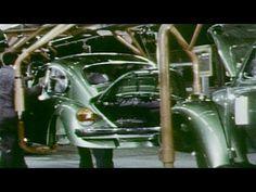 1973 Volkswagen Beetle PRODUCTION - YouTube ▶️