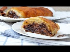Chocolate Apple Strudel - Easy Apple Strudel Recipe with Phyllo Dough - YouTube