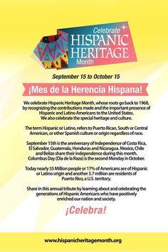 102 best celebrating hispanic heritage month images on pinterest in