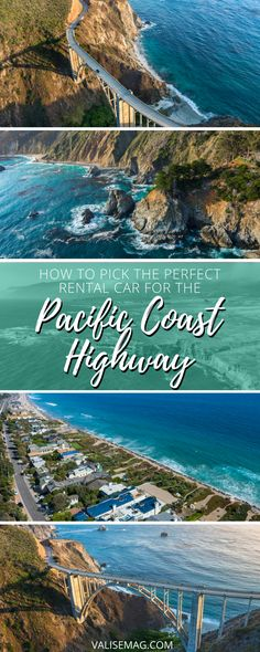 When planning your ultimate PCH road trip, don't skip choosing a perfect car. Here's how to pick the ultimate Pacific Coast Highway Rental.