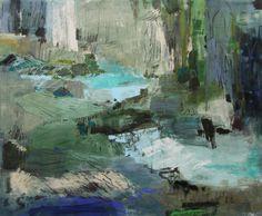Down By The Water, 2016, Mischtechnik auf Leinwand, 180 x 220 cm