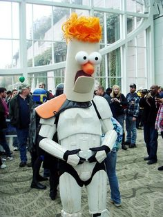Beaker Trooper! Best mashup ever? I think it may be.