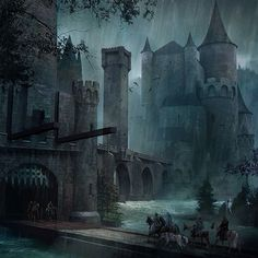 The Twins, sometimes known as the Crossing, are the seat of House Frey in the northern Riverlands. It is a fortified crossing of the Green Fork of the Trident and consists of two identical castles and a tower in the middle of their bridge. The Twins represents the only crossing point over the Green Fork for hundreds of miles in either direction. It is a major barrier to travelers and merchants traveling from the North to the western Riverlands. The Freys' rise began six hundred years…