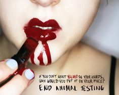 makeup tested on animals | ... her heart: the fight against torturing animals for cosmetics testing