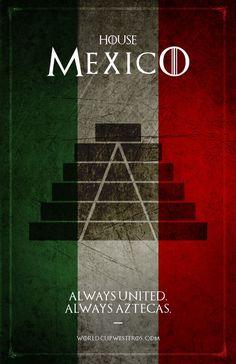 Mexico game of thrones Aztecas