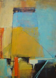 "Saatchi Online Artist Jenny Gray; Painting, ""Beach Tower"" #art"