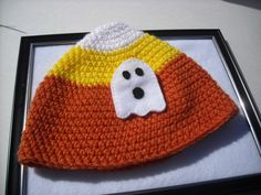 Ghost Felt Brooch by michellesstitches on Etsy