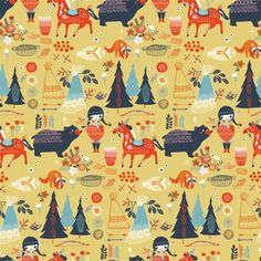 Wildland - Fabric collection from Birch Fabrics - designs by Miriam Bos