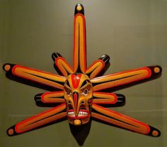 Pacific Northwest Tribal Mask by LostMyHeadache: Absolutely Free *, via Flickr