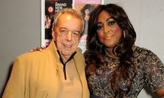 Rod Temperton, songwriter died aged 66. Shown here with Mica Paris in 2013