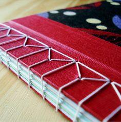 Japanese hemp leaf binding