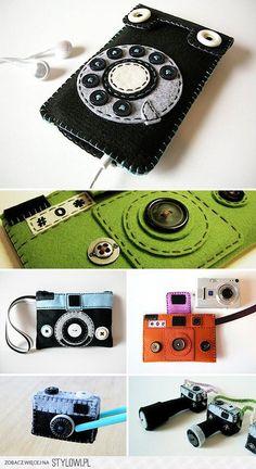 filc - Crafts / Monster-Munch  Miniture Cameras and Ret…