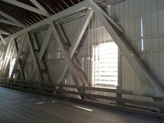 Looking at the Howe Truss, this bridge did suffer some damage during the 1996 flood and was refurbished in 2002.