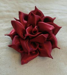 Fire Rose Another way of ROSE with ribbons
