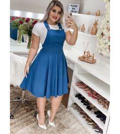 35 Beautiful Casual Dress Ideas for Women 2019 Beautiful Casual Dresses, Classy Dress, Stylish Dresses, Cute Dresses, Elegant Outfit, Denim Fashion, Cute Fashion, Fashion Outfits, Shweshwe Dresses