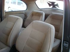 Fusca custom interior