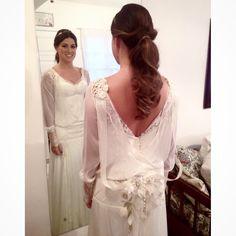 Nossa noivinha linda Patricia Cardoso.