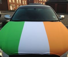 Our Ireland Car Bonnet Flag is the perfect addition to your car so that you can fly your colours! So if your feeling patriotic, buy your flag and hold it high!