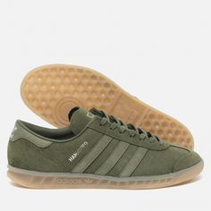 best website 7c08d 5a5e1 Кроссовки adidas Originals Hamburg GreenMetallic Silver BB4993