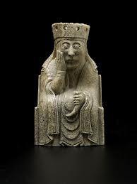 lewis chess men - the Queen